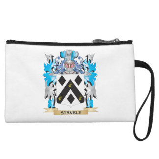 Stavely Coat of Arms - Family Crest Wristlet
