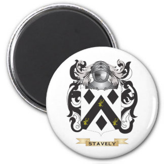Stavely Coat of Arms (Family Crest) Fridge Magnets