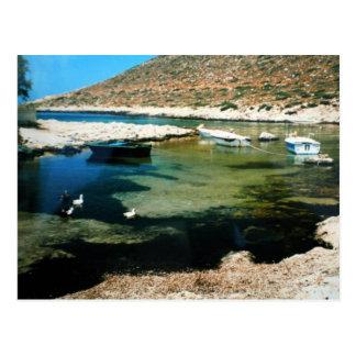Stavros bay Crete photography Colette Guggenheim Postcard