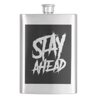 Stay Ahead wall paint Flask
