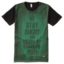 Stay Angry And Hulk Out All-Over-Print T-Shirt
