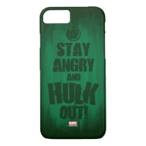 Stay Angry And Hulk Out iPhone 8/7 Case