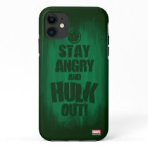 Stay Angry And Hulk Out iPhone 11 Case