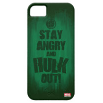 Stay Angry And Hulk Out iPhone SE/5/5s Case