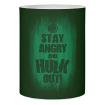 Stay Angry And Hulk Out Flameless Candle