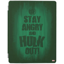 Stay Angry And Hulk Out iPad Smart Cover
