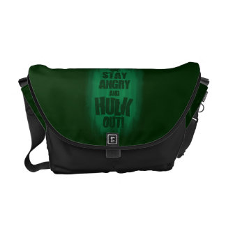 Stay Angry And Hulk Out Messenger Bag
