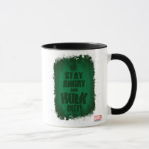 Stay Angry And Hulk Out Mug