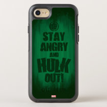 Stay Angry And Hulk Out OtterBox Symmetry iPhone SE/8/7 Case