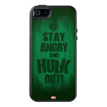 Stay Angry And Hulk Out OtterBox iPhone 5/5s/SE Case