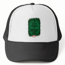 Stay Angry And Hulk Out Trucker Hat