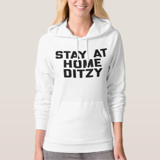 Stay At Home Ditzy Hoodie