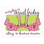 Stay at Home Mom Post Card