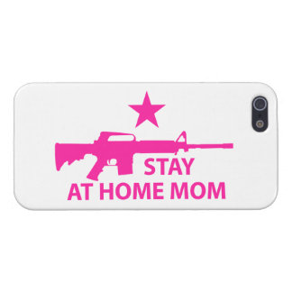 Stay at Home Mom Protection iPhone 5/5S Covers