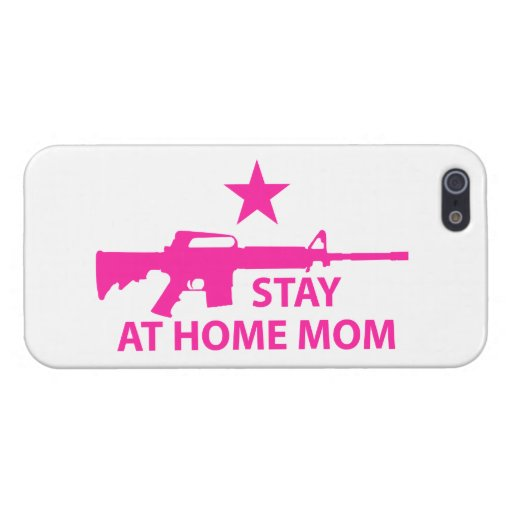 Stay at Home Mom Protection iPhone 5 Cover