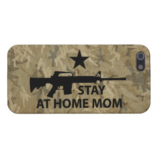 Stay at Home Mom Protection iPhone SE/5/5s Cover