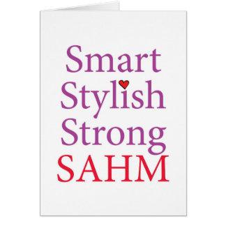 Stay At Home Mom - SAHM Card