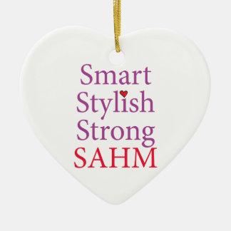 Stay At Home Mom - SAHM Ceramic Ornament