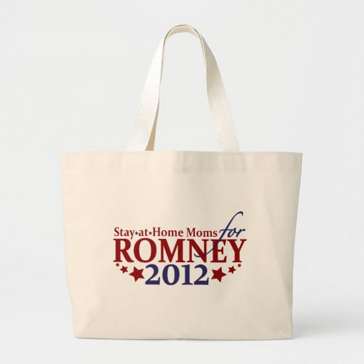 Stay-at-Home Moms for Romney 2012 Bag