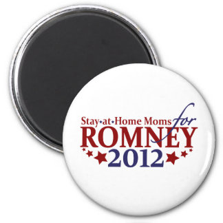 Stay-at-Home Moms for Romney 2012 Magnet