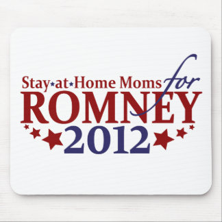 Stay-at-Home Moms for Romney 2012 Mouse Pad