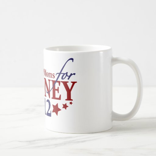 Stay-at-Home Moms for Romney 2012 Mugs