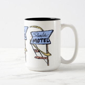 Stay at the Starlight Two-Tone Coffee Mug