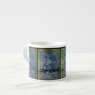 Stay Awake Owl 6 Oz Ceramic Espresso Cup