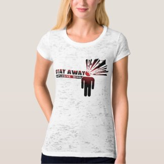 Stay Away Explosive Mind T-Shirt