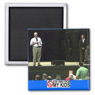 Stay Away From My Kids & David Hedrick Magnet 2x2