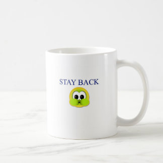 Stay back coffee mug