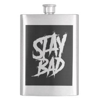 Stay Bad graffiti wall paint Flask