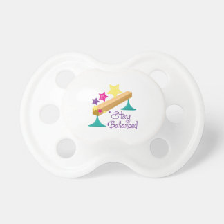 Stay Balanced Baby Pacifiers