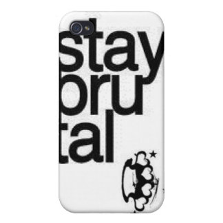 stay brutal, brass knuckles covers for iPhone 4