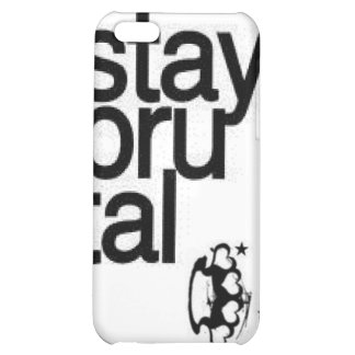 stay brutal, brass knuckles case for iPhone 5C