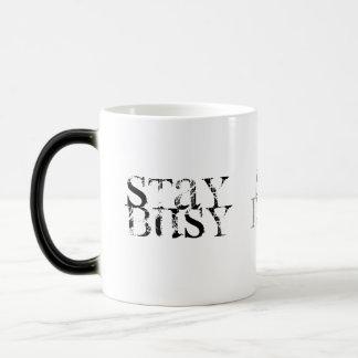 STAY , BUSY, DO, WERK, SB, DW MAGIC MUG