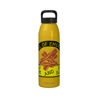 Stay Calm and Eat Bacon Liberty Bottle Water Bottle