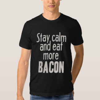 Stay Calm and Eat More Bacon Dresses