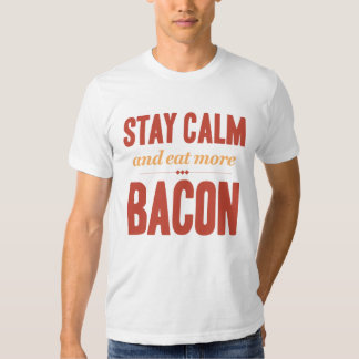 Stay Calm and Eat More Bacon vintage Dresses