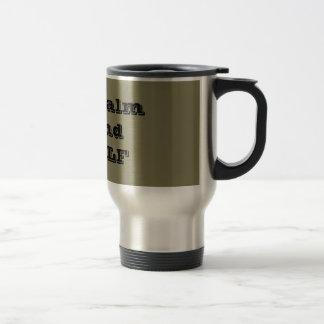 Stay Calm and GOLF Travel/ Commuter Mug