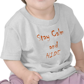 Stay Calm and Hide T-shirt