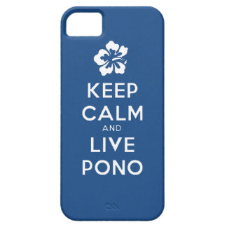 Stay Calm and Live Pono iPhone SE/5/5s Case