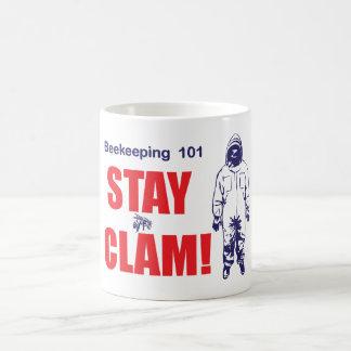 Stay calm. coffee mug
