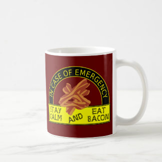 Stay Calm, Eat Bacon Mug