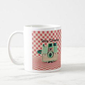 Stay cheesy, say cheese mug