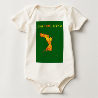 STAY CHILL AFRICA BABY BODYSUIT