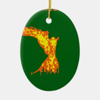STAY CHILL AFRICA CHRISTMAS TREE ORNAMENT