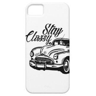 Stay Classy by KylaCher studio iPhone SE/5/5s Case