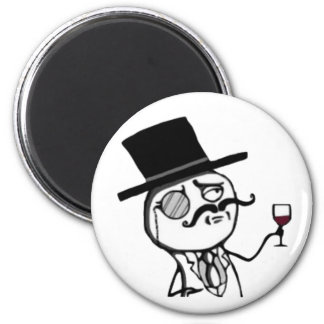 Stay Classy Internet Meme face Refrigerator magnet
