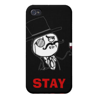 Stay Classy Internet Meme Rage Face Iphone Cases iPhone 4 Covers